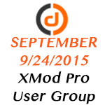 XMod Pro Online User Group Meeting - September 2015